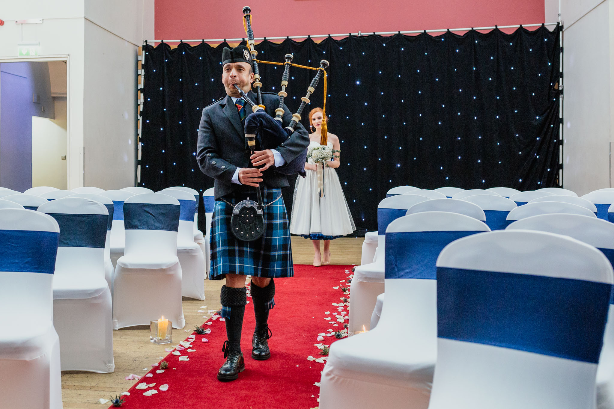 Wedding Pipers at The National Piping Centre